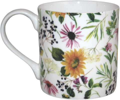 Rubyspoon Oversized Fine Bone China 'Sunflower' Balmoral Mug, 425 ml