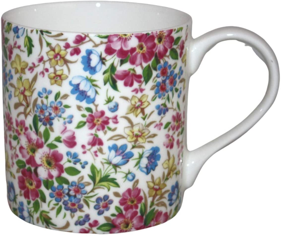 Rubyspoon Oversized Fine Bone China 'Florence' Balmoral Mug, 425 ml