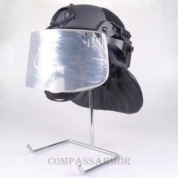ACH-RM2-VN3A Ballistic ACH Helmet with Visor and Neck Protector