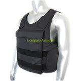 "LIGHT-WEIGHT CONCEALED BULLETPROOF VEST with 10""x12"" Plate-Pouch BPV-S04"