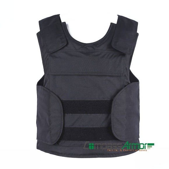LIGHT-WEIGHT CONCEALED BULLETPROOF VEST with 10