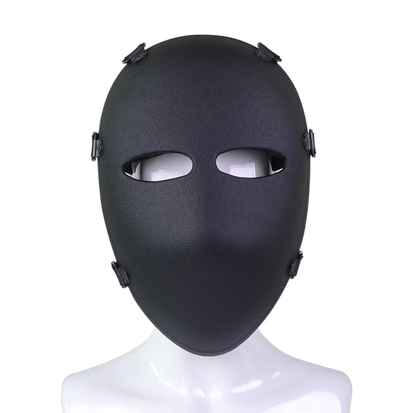 Ballistic Full Face Mask protector level NIJ 3a hard armor