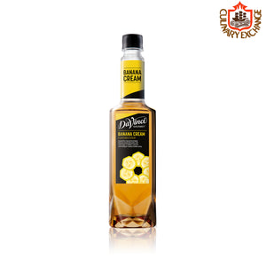 Da Vinci Gourmet Banana Cream Syrup 750ml (Winter Collection)