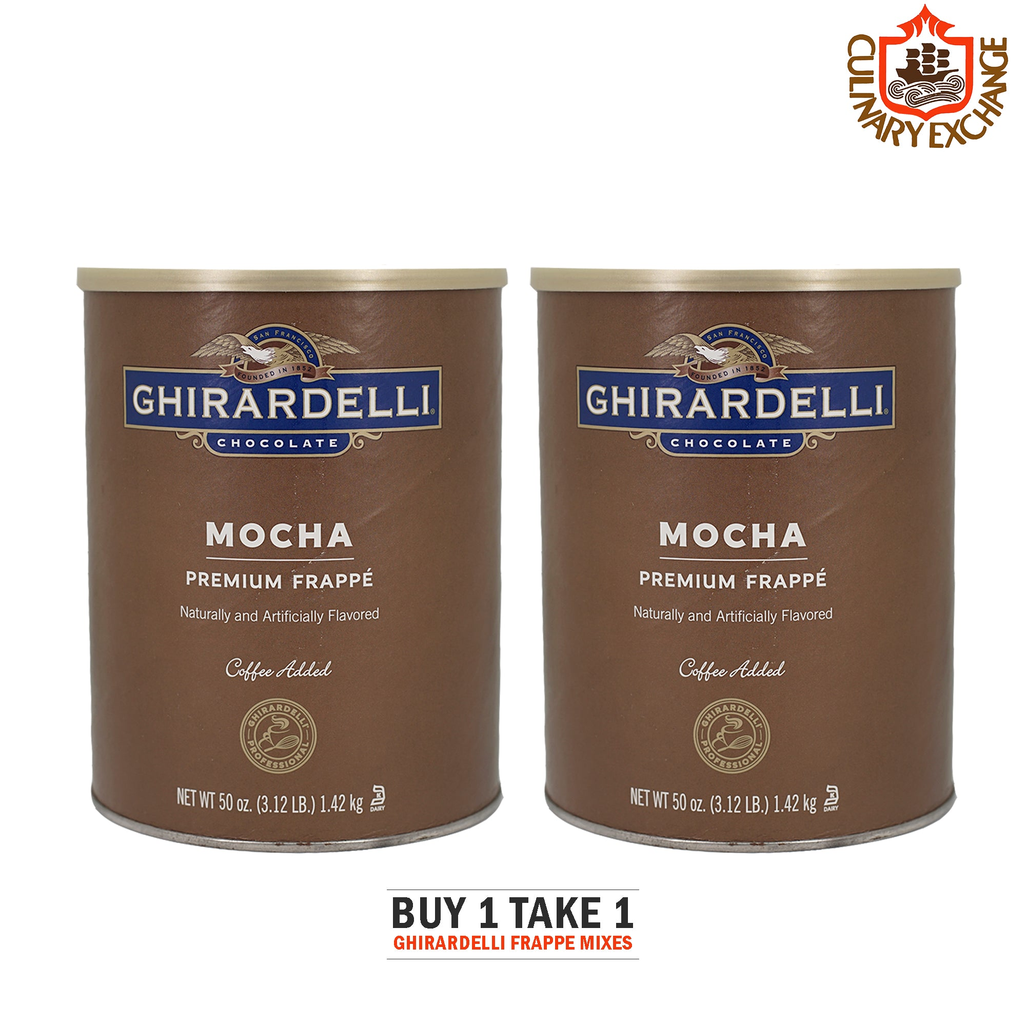 Buy 1 Take 1 Ghirardelli Frappe Mix