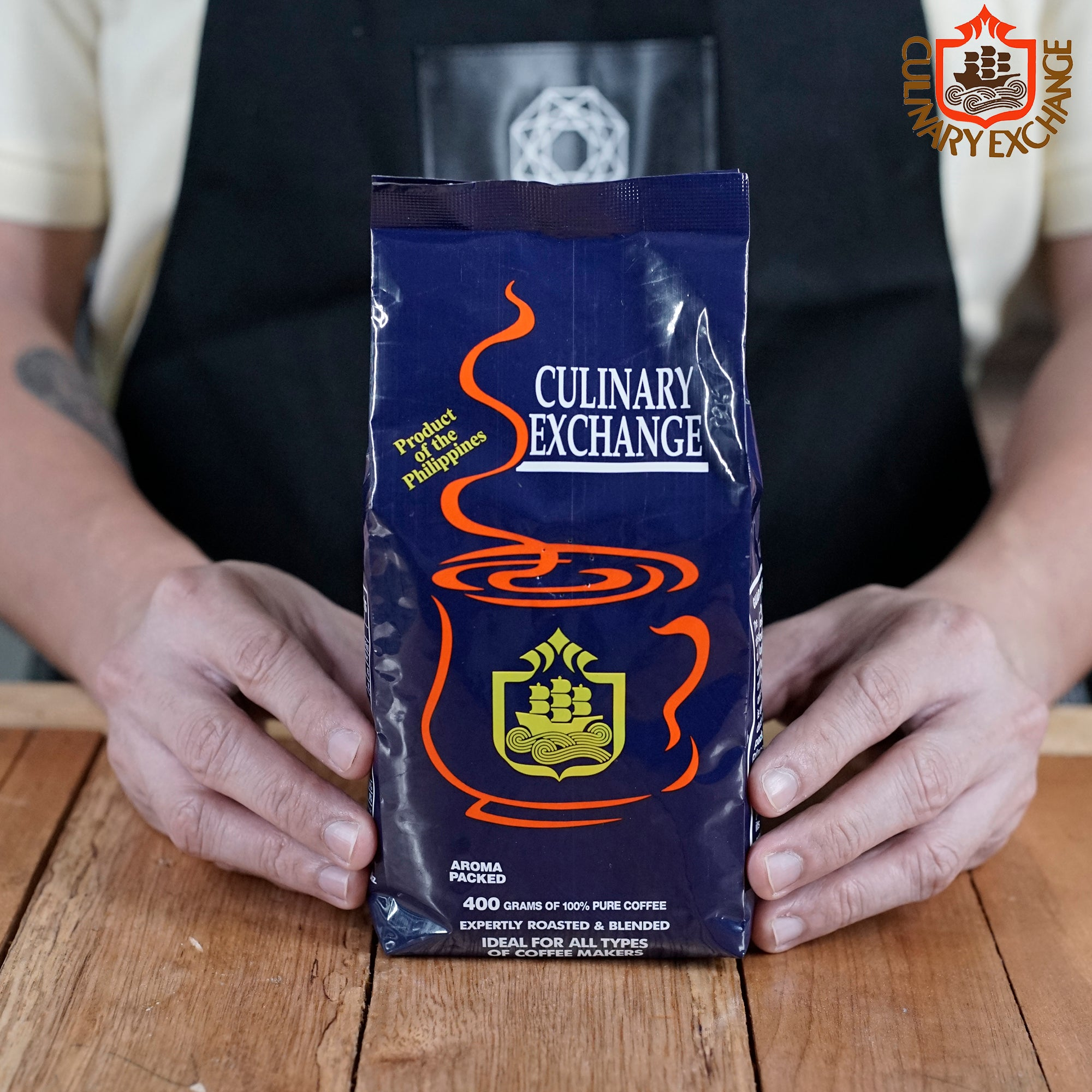 The Culinary Exchange Ground Coffee Beans (400g)