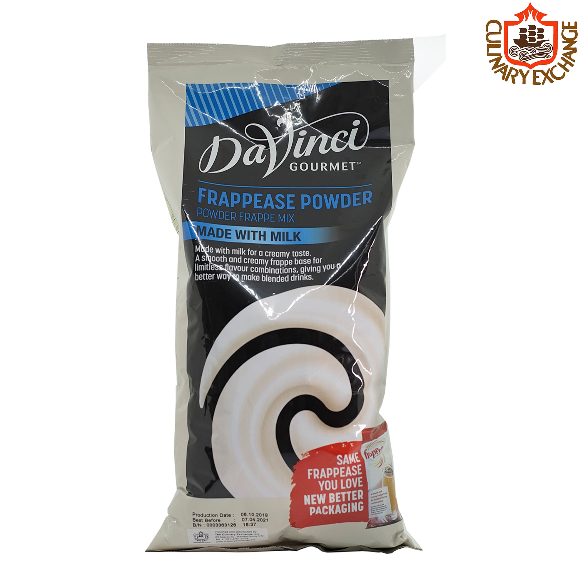 DaVinci Gourmet Neutral Frappease Beverage Base Mix (1.5kg)