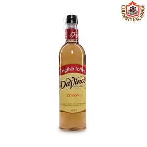 Da Vinci Gourmet English Toffee Flavoured Syrup (750mL)
