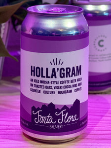 Fonta Flora Brewery 'Holla'Gram' Coffee Beer, Nebo, NC [12oz can]