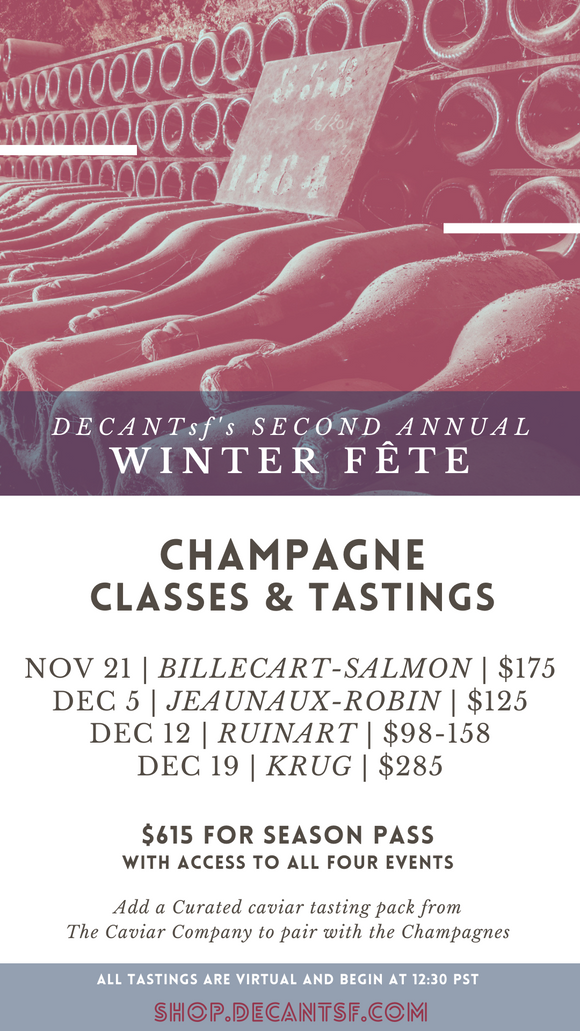 Winter Fête SEASON PASS: ALL FOUR TASTINGS 2020