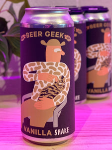 Mikkeller 'Beer Geek Vanilla Shake', Imperial Stout with Vanilla and Coffee, San Diego, CA [16oz can]