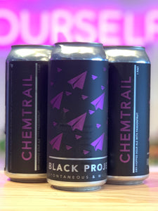 Black Project 'CHEMTRAIL' Dry-hopped sour ale with Passionfruit, Denver, CO [16oz Can]