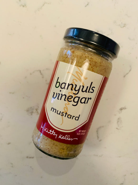 Kitty Keller 'Banyuls Vinegar' Mustard 6oz