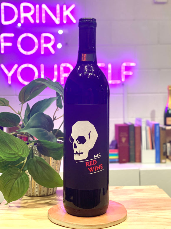 Monte Rio 2019 'Skull Red', Red Blend, California, USA