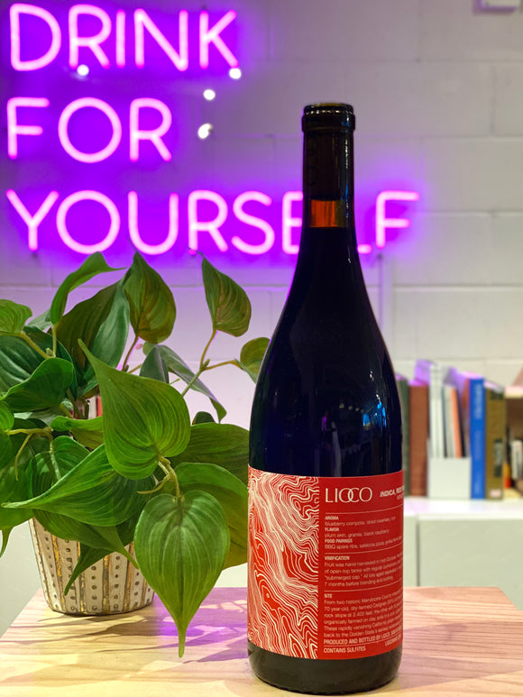 Lioco 2019 'Indica' Red Table Wine, Mendocino County, California, USA