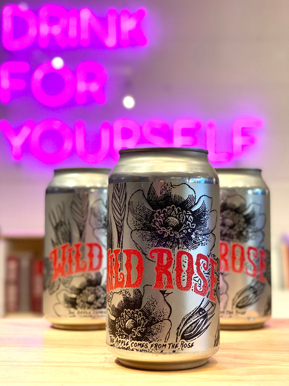 Wildcraft Cider Works 'Wild Rose' Biodynamic Wild Cider, Eugene, OR