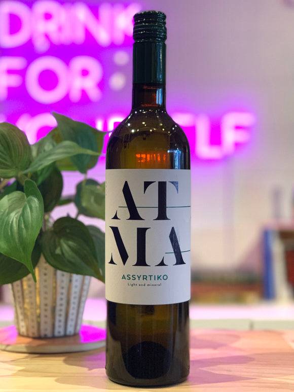 Thymiopoulos Vineyards 2019 'Atma' Assyrtiko, Macedonia, Greece
