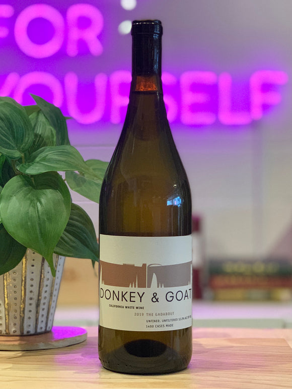 Donkey & Goat 2019 'Gadabout' White Blend, California, USA