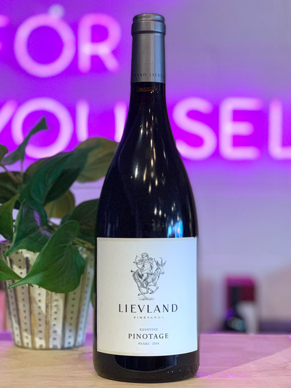 Lievland Vineyards 2018 'Bushvine' Pinotage, Paarl, Western Cape, South Africa