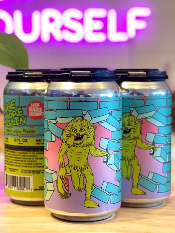 Hoof Hearted Brewinig 'One More Again' Czech-Style Pilsner, OH [12oz Can]