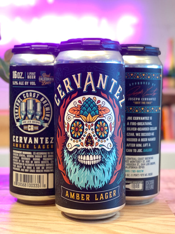 Central Coast Brewing 'Cervantez' Vienna Amber Lager, CA [16oz Can]