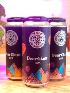 Little Beast Brewing 'Dear Giant' Double IPA, OR [16oz Can]