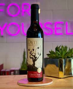 Detert 2016 Estate Cabernet Franc, Oakville, Napa Valley, CA, USA (375mL Half Bottles)