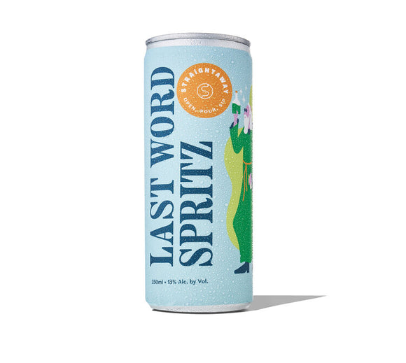 Straightaway 'Last Word Spritz' Wine Cocktail, Oregon (4pk/250ml Cans)