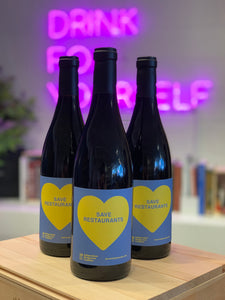 "Melville 2019 ""SAVE RESTAURANTS"" Syrah, Santa Barbara Co., California, USA"
