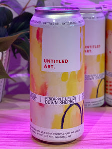 Untitled Art 'Pineapple Upside Down Sherbet', Berliner Style Ale, Waunakee, WI [16oz can]