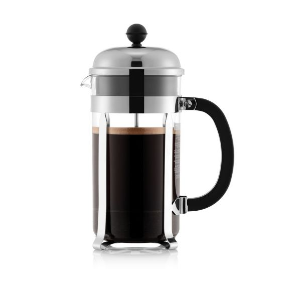 Bodum Chambord Coffee Maker 8-cup in Chrome