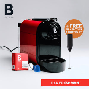 B Coffee Co. Freshman Coffee Machine