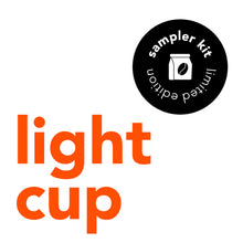 Load image into Gallery viewer, Light Cup Sampler Pack (3 bottles)