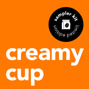 Creamy Cup Sampler Pack 2.5L (3 bottles)