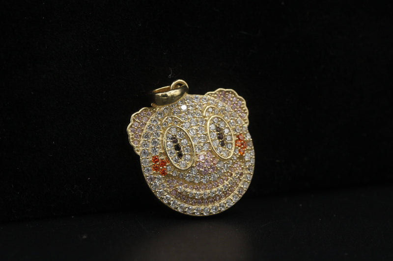 14K Emoji Pendants variety CZ stones by GD - Gold Drip Jewelry