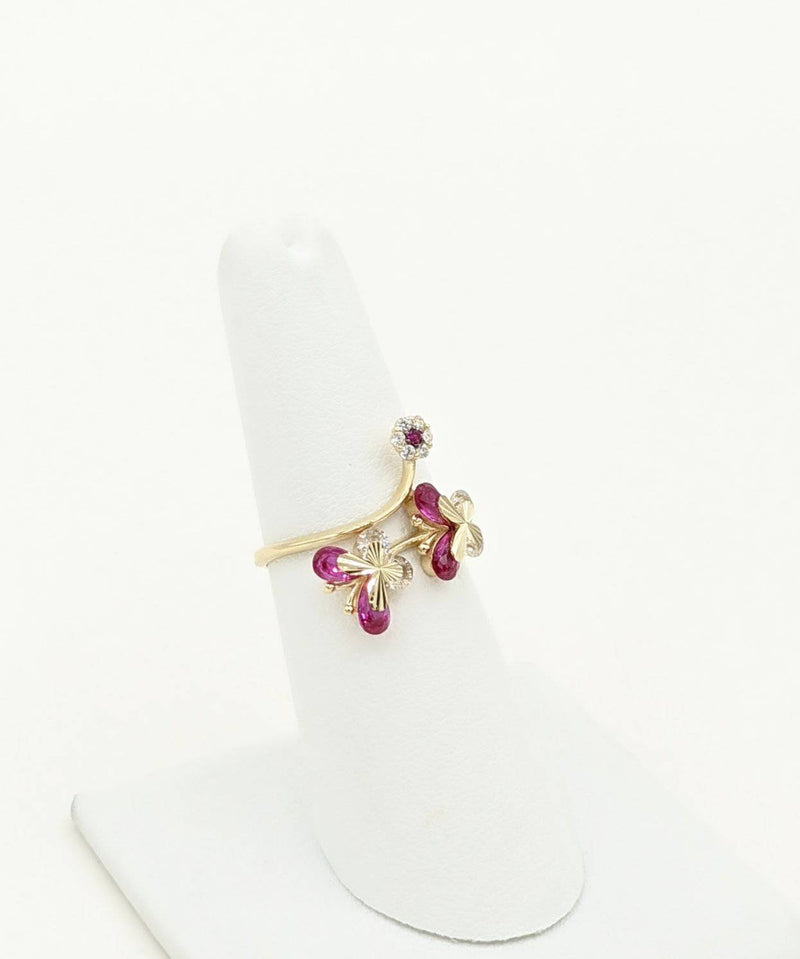 14K Butterfly Ring for Women by GD ™ - Gold Drip Jewelry