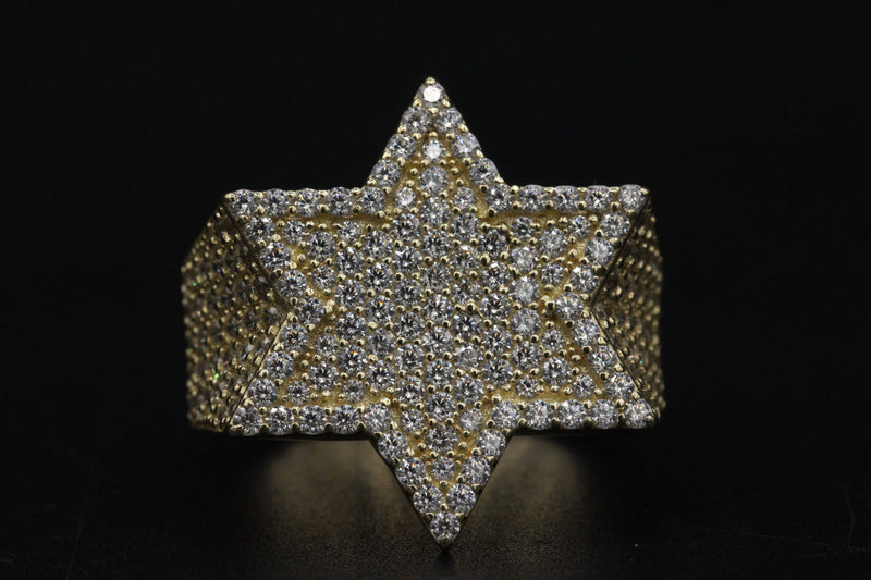 14K Salomon Star Men´s Ring by GD ™ - Gold Drip Jewelry