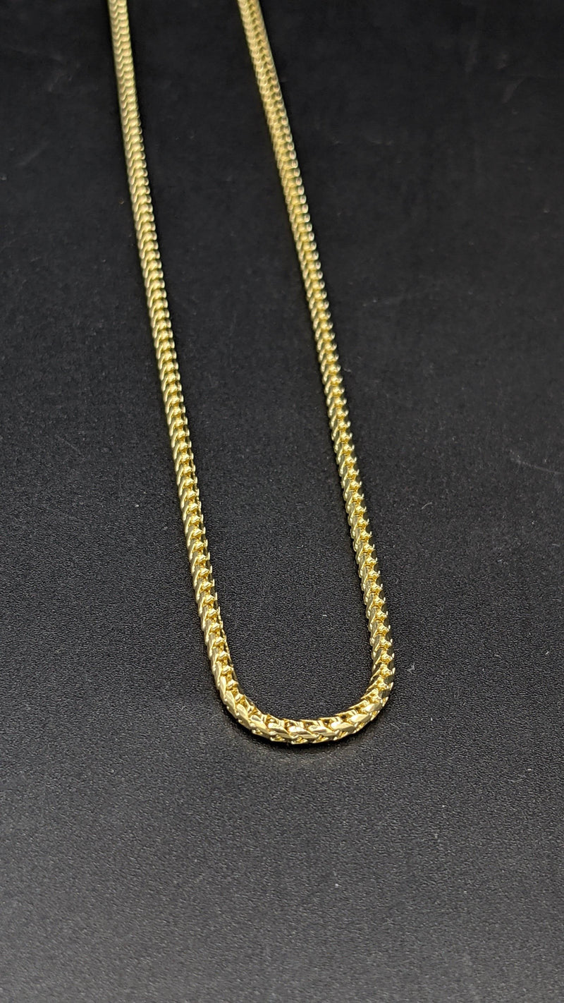 14K Solid Franco Chain by Gold Drip ™ - Gold Drip Jewelry