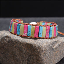 Load image into Gallery viewer, Handmade Emperor Stone Bracelet