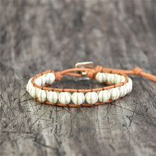 Load image into Gallery viewer, Natural Pumpkin Shape Stone Bracelet
