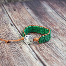 Load image into Gallery viewer, Malachite Stone Bracelet