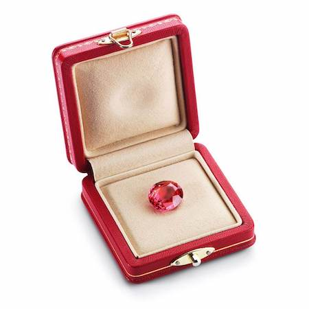 McTeigue and Co Padparadscha Sapphire