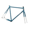 All-City Big Block Frameset Azure/White