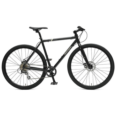 Retrospec Amok v3 8sp Cyclocross Bike - Matte Black
