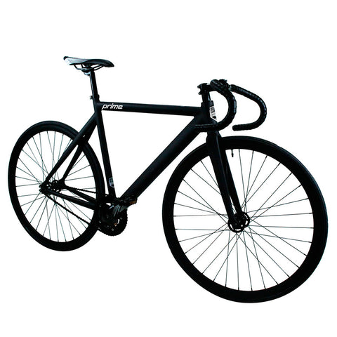 Prime Alloy Series Matte Black Fixed Gear