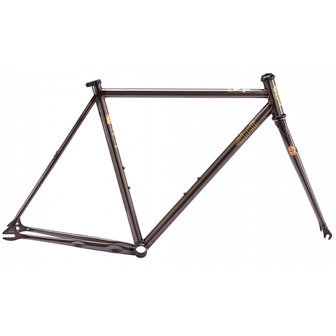 Cinelli MASH 2017 Work Frame + Fork Dark Smoke