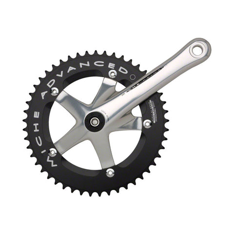 "Miche Advanced Track Crank, 165mm, w/49t 1/8"" Ring"