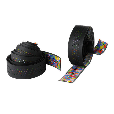 Cinelli Caleido Leatherette Blk Multi-Color EVA Padding