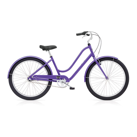 Benno Upright 3i Ladies City Bike- Lavender Purple