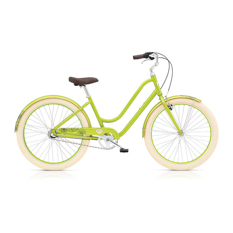 Benno Upright 3i Ladies City Bike- Lime Green