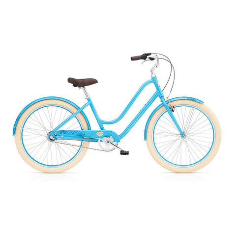 Benno Upright 3i Ladies City Bike- Sky Blue